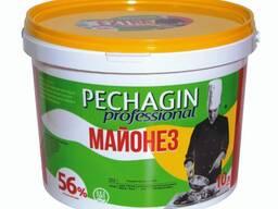 Майонез «Pechagin professional» жирность 56% ведро ПВХ 10 л.