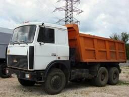 Аренда самосвала МАЗ 20 т- доставка сыпучих материалов