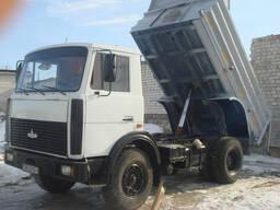 Доставка сыпучих материалов, вывоз мусора МАЗ