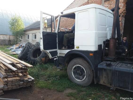 МАЗ 54323 тягач с прицепом МАЗ9397