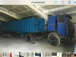 """МАЗ-54329 с полуприцепом """"cobolt"""" 40 кубов типа """"зерновоз"""""""