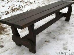 Мебель деревянная для дачи, сада, кафе - фото 2