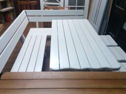 Мебель для бани из дерева. - фото 8