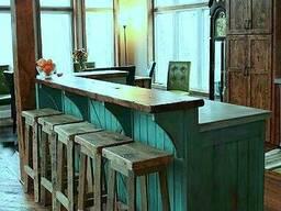Мебель для баров кафе и ресторанов из массива дерева