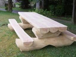 Мебель садовая. Столы и лавки.