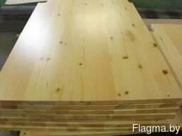 Мебельный щит столярный 18-40мм (сосна)