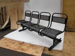 Металические перфорированные сидения