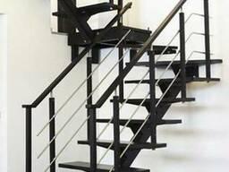 Металлическая лестница под заказ по всей РБ