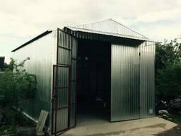 Металлические гаражи, хоз. блоки, бытовки (Разборные)