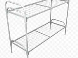 Металлические кровати, одноярусные и двухъярусные