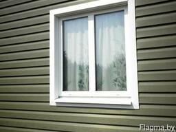 Металлические откосы для окон и дверей.