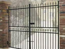 Металлические ворота #1