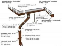 Металлочерепица водосточные системы под ключ. - фото 4