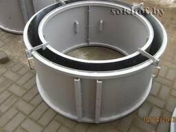 Металлоформа для ЖБИ колец