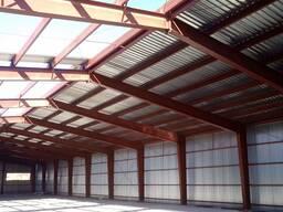 Металлоконструкции, модульные и промышленные здания.