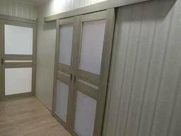 Межкомнатные двери из эко шпона и массива с фурнитурой