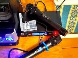 Микрофон ручной беспроводной динамический радио стерео ETJ