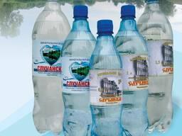 """Минеральная и питьевая вода """"Случанская"""""""