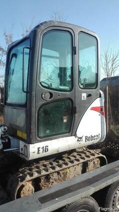 Мини-экскаватор Bobcat E16