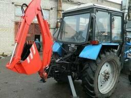 Мини-экскаватор навесной МЭН-300 на МТЗ-82