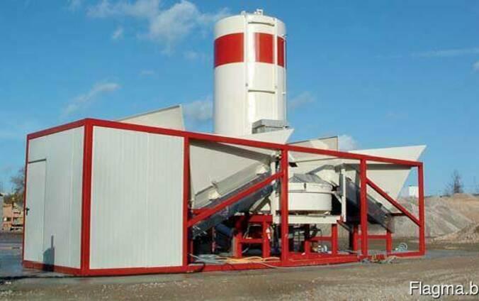 Мобильный бетонный завод SUMAB К-40