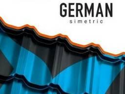 Модульная металлочерепица German