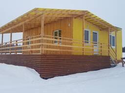 Модульный дом в деревне