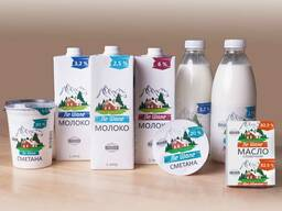 Молочную продукцию в ассортименте Молочный гостинец