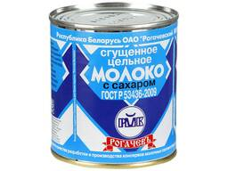 Молоко сгущенное с сах. 8.5%, 380 г. пр-во Рогачев, Глубокое