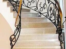 Монолитная бетонная лестница под заказ по всей РБ