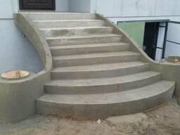 Монолитные(бетонные)лестницы
