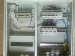 Монтаж электрических щитов