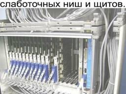 Монтаж и перенос слаботочных ниш и щитов в Минске