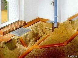 Монтаж и укладка труб ливневой канализации