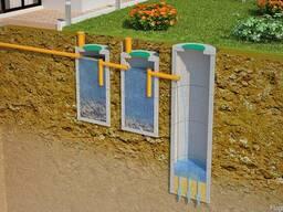 Монтаж канализации и септиков под ключ за 1 день!
