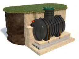 Монтаж колодцев, септиков и систем автономной канализации