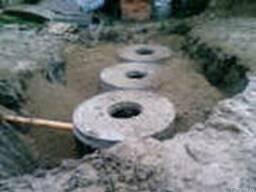 Монтаж наружной канализации.