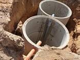 Монтаж наружной канализации из ж. б. колец под ключ. - фото 3
