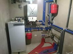 Монтаж отопления и водоснабжения любой сложности