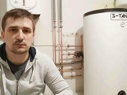 Монтаж систем отопления, водоснабжения, тёплого пола.