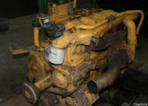 Мотор liebherr 902 litronic