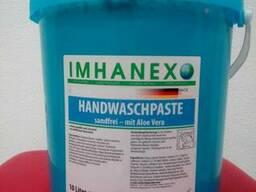Моющая паста для рук Imhanex с алое вера 10 л