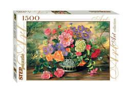 """Мозаика """"puzzle"""" 1500 """"Цветы в вазе"""""""