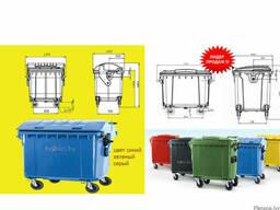 Аренда мусорных контейнеров л,1100л)