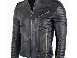 Мужские кожаные куртки производства Турции