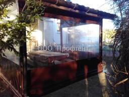 Мягкие окна и окна ПВХ для беседки, веранды, террасы, навеса