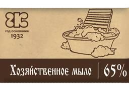 Мыло хозяйственное тёмное 65% 350г