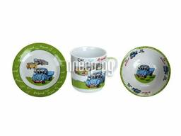 Набор детской посуды Daniks Синий грузовик 292092