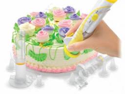 Набор для декорации торта с электрической ручкой. ..