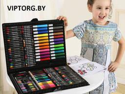 Набор для рисования Super Mega Art Set 168 предметов в чемодане
